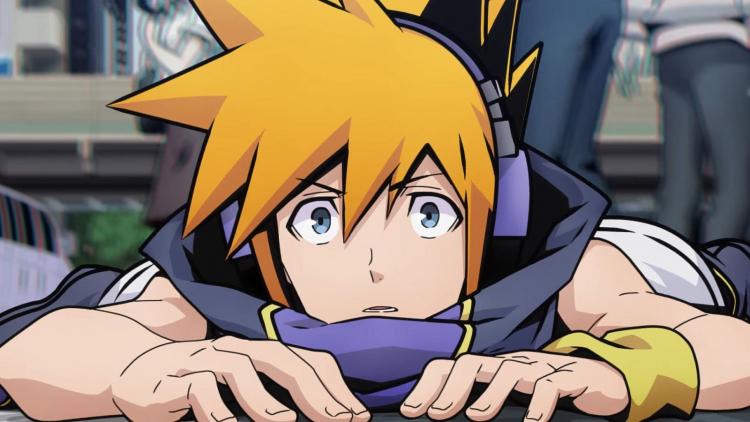 Кадр из предстоящего аниме по мотивам The World Ends With You