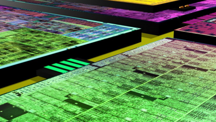 AMD has developed an active inter-chip bus with integrated cache memory for GPU