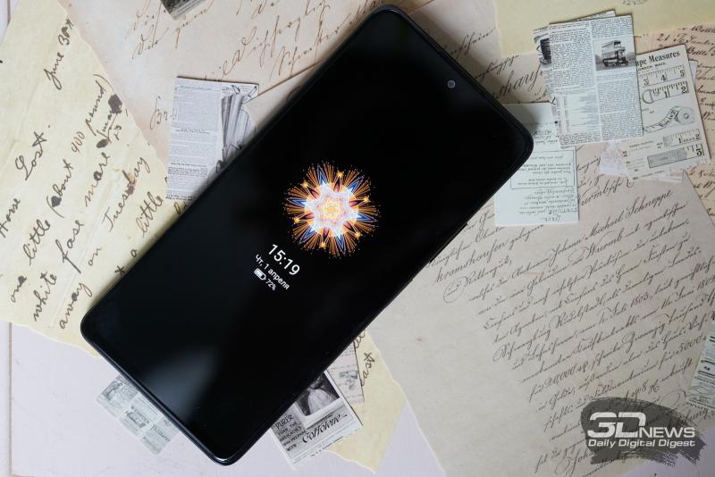Xiaomi Redmi Note 10 Pro, лицевая панель: фронтальная камера по центру в верхней части, разговорный динамик под верхней кромкой