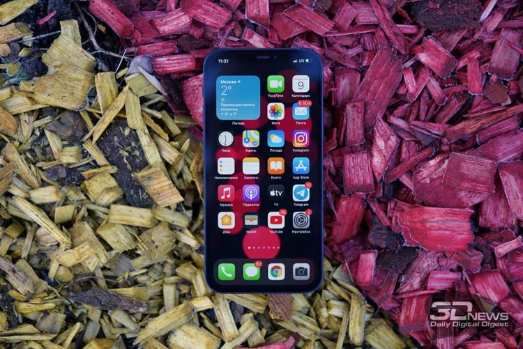 Почти половина денег на российском рынке смартфонов досталась Apple