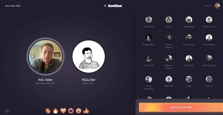 Facebook начала тестирование сервиса Hotline  гибрида Clubhouse и Instagram Live