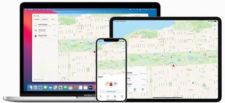 Приложение «Локатор» в iOS и macOS научилось искать потерянные устройства сторонних производителей