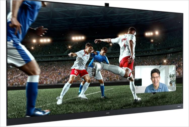 Huawei представила новые флагманские телевизоры Smart Screen V-серии  120 Гц, HDR Vivid и высокая яркость