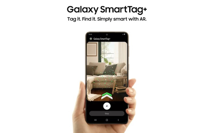 Samsung представила трекер Galaxy SmartTag Plus с поддержкой сверхширокополосной связи и дополненной реальности