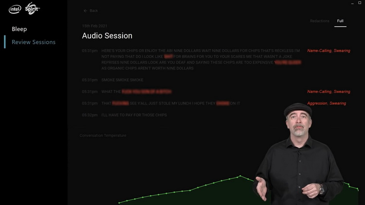 """Intel запустила ИИ-сервис для геймеров с плавной регулировкой потока ругательств в голосовых чатах"""""""