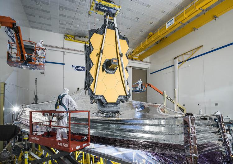 """Завершён важный этап сборки космического телескопа-рекордсмена «Джеймс Уэбб»"""""""