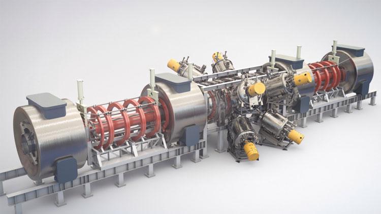Прототип термоядерного реактора компании TAE Technologies. Источник изображения: TAE Technologies