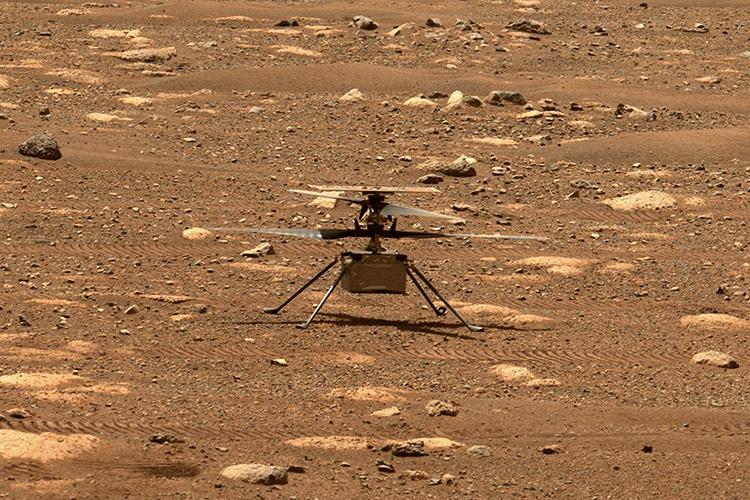 "NASA отложило полёт марсианского вертолёта до 14 апреля из-за проблемного теста винтов"""