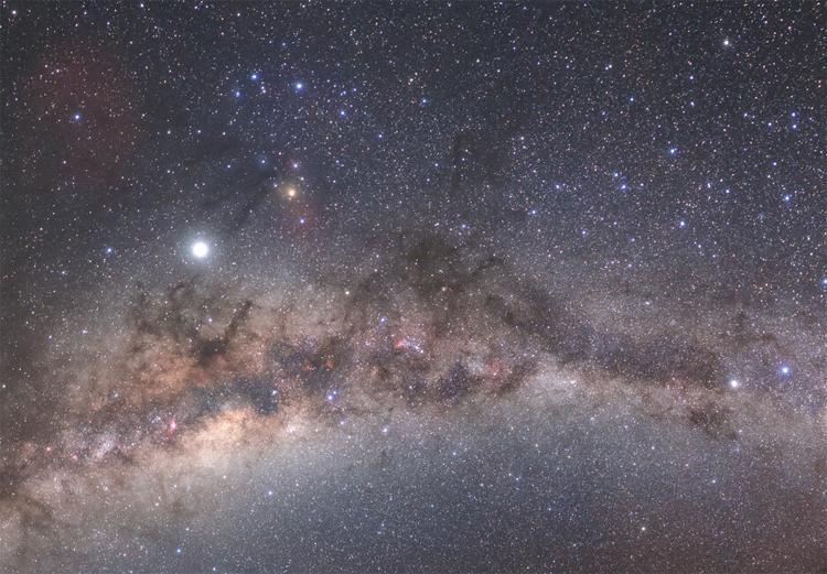"""Фото дня: вид из пустыни на Млечный путь"""""""