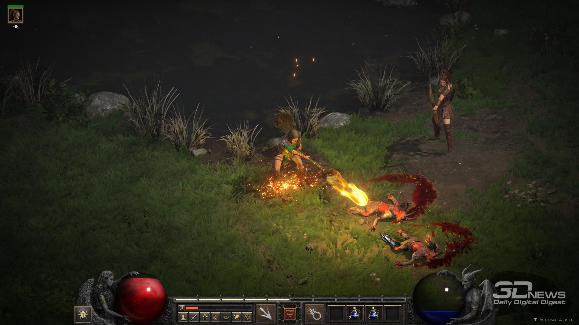 Diablo II: Resurrected  тьма ожиданий. Предварительный обзор