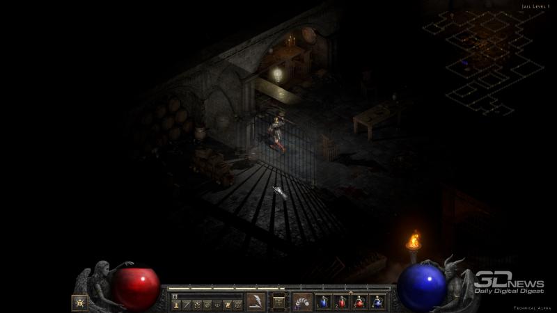 Местами Diablo II: Resurrected достигает поистине дьявольской атмосферности