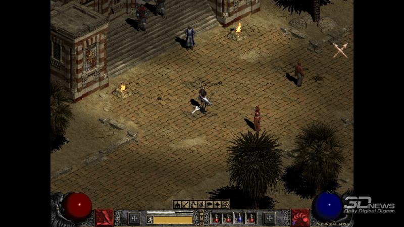 Режим картинки Legacy не только активирует классический облик игры, так ещё и выводит изображение в аутентичных разрешениях — 640 × 480 или 800 × 600. Полное погружение в ностальгию!