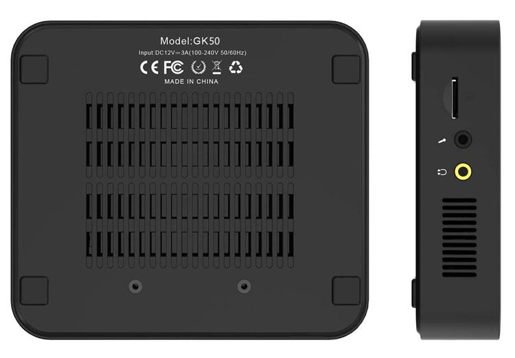 """Представлен компактный компьютер MINISFORUM GK50 на платформе Intel по цене от $299"""""""