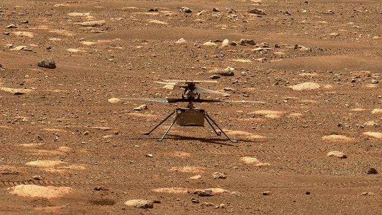 """Вертолёту «Изобретательность» для первого полёта на Марсе потребовалось обновление прошивки. Запуск отложен до следующей недели"""""""