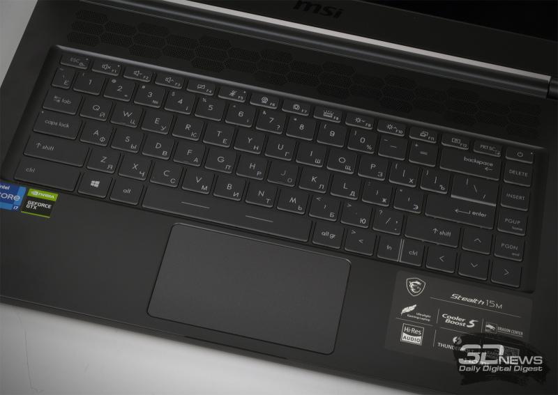 Обзор ноутбука MSI Stealth 15M A11S: для тех, кому важно поработать и поиграть в поездке
