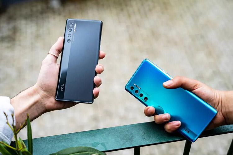 TCL анонсировала смартфоны 20 Pro 5G, 20L и 20L Plus