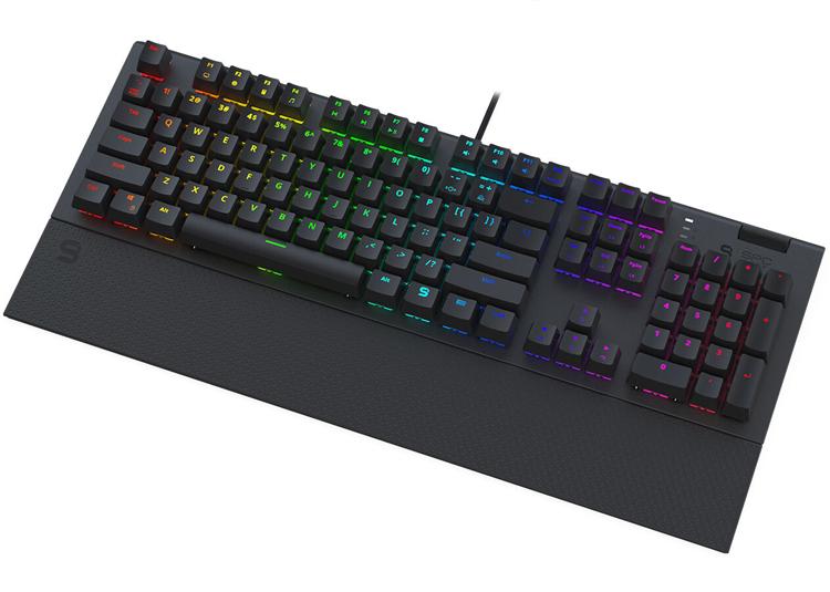 """Клавиатура SPC Gear GK650K Omnis оборудована механическими переключателями"""""""