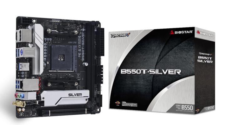 """Представлена материнская плата Biostar B550T-Silver для компактных компьютеров"""""""