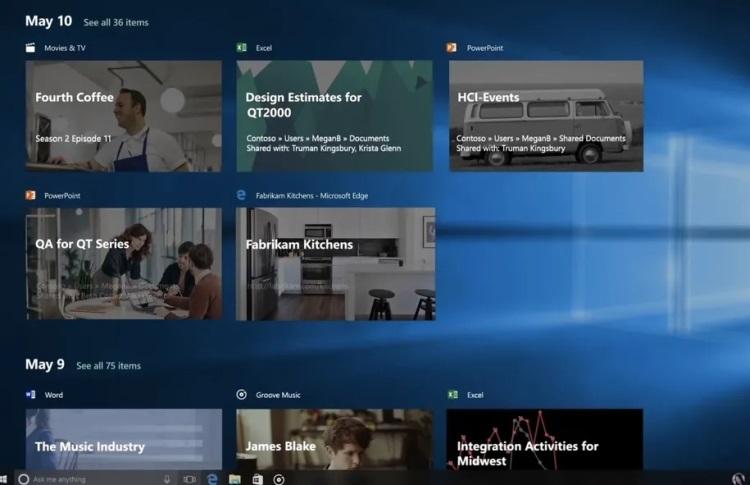 Microsoft избавится от «Временной шкалы» в Windows 10