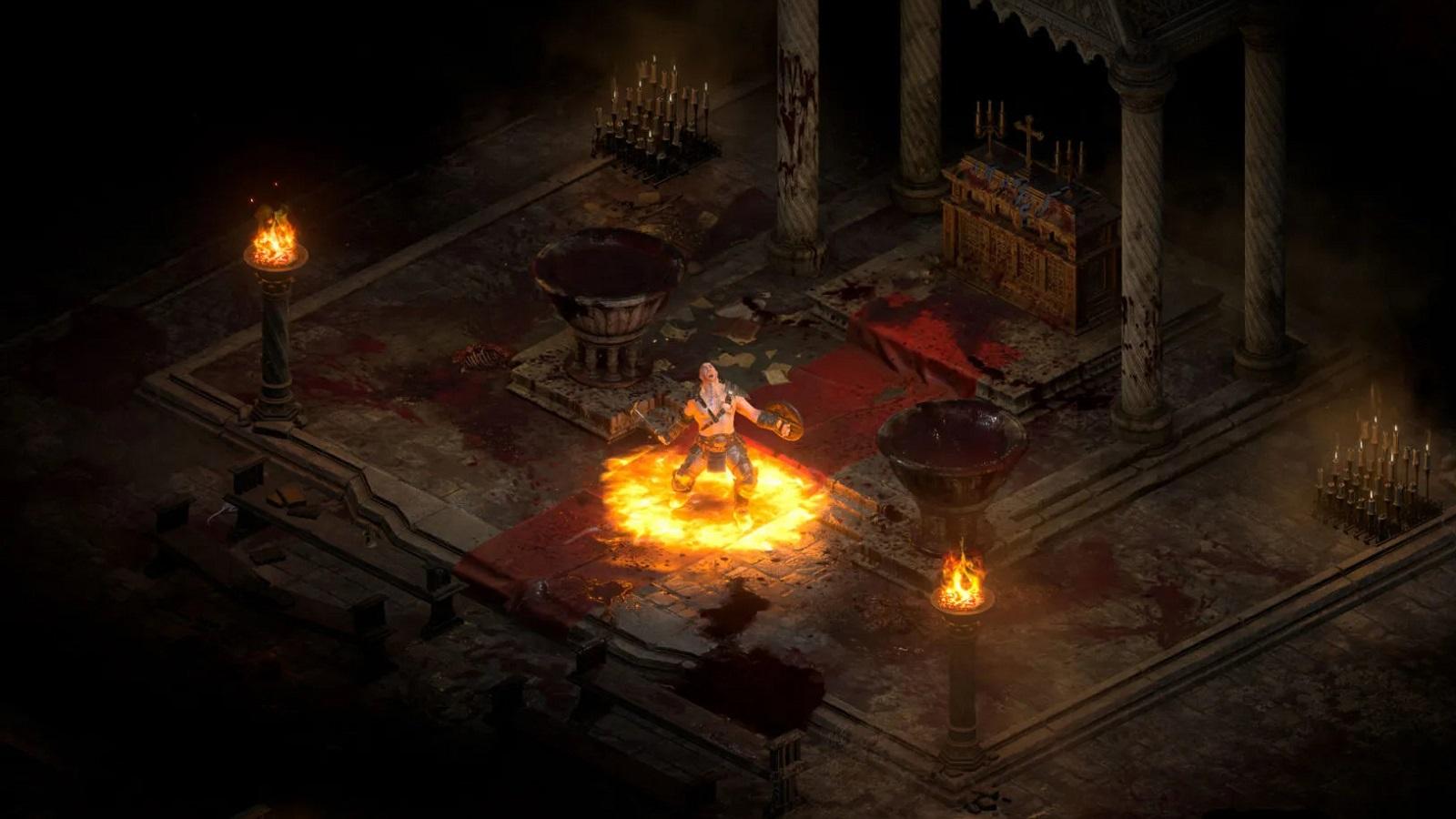 Игроки нашли способ разблокировать все классы персонажей в альфе Diablo II: Resurrected
