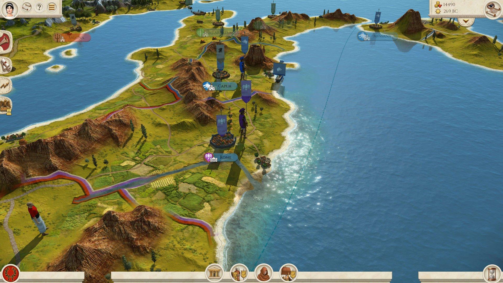 Видео: о повышении удобства игры в новом трейлере ремастера Total War: Rome