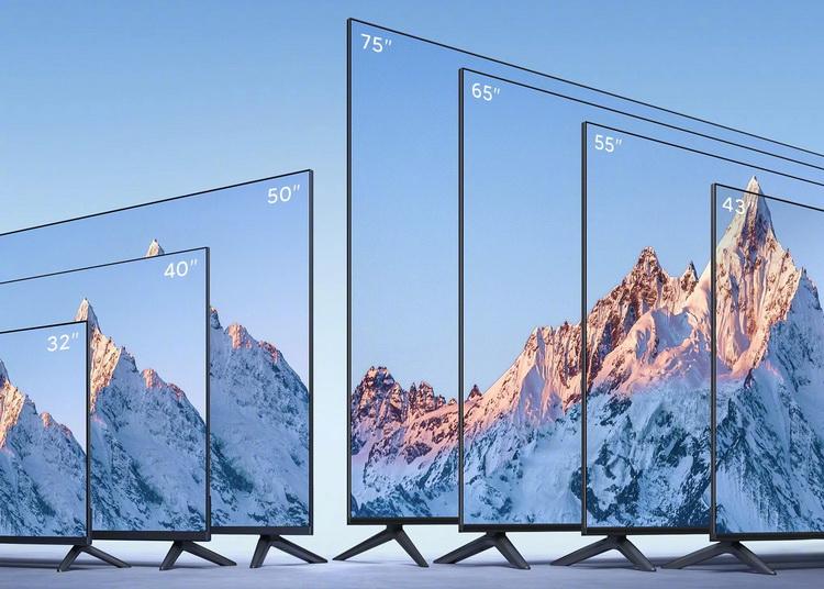 Xiaomi представила серию доступных телевизоров Mi TV Series EA 2022 с премиальным дизайном