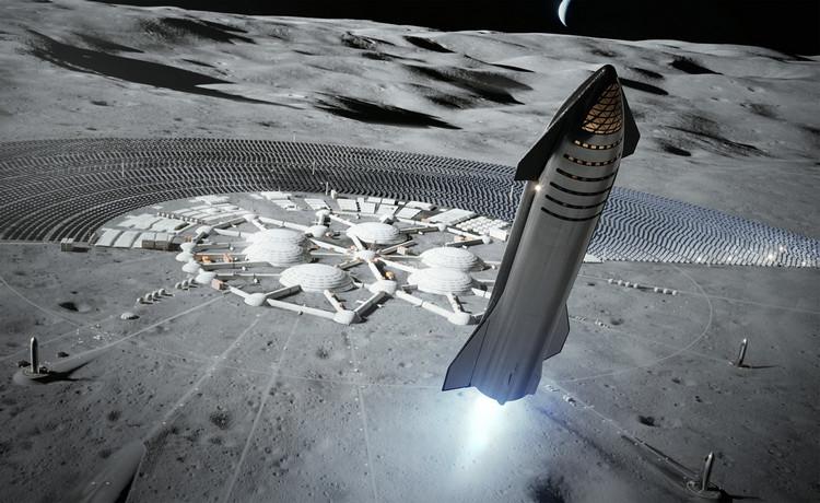 """SpaceX выиграла контракт NASA на создание корабля для высадки астронавтов на Луну"""""""