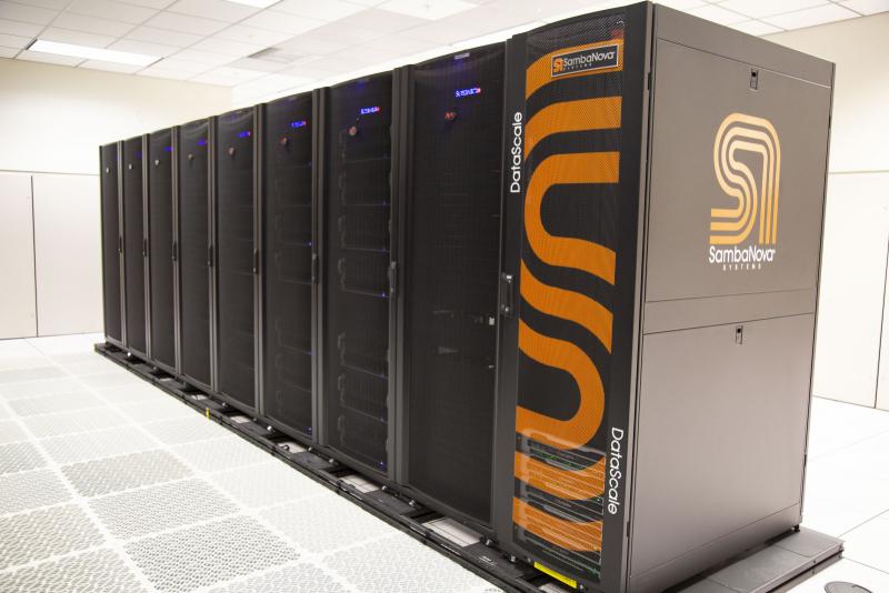 Система SambaNova DataScale дополнила суперкомпьютер Corona. Фото: Katrina Trujillo/LLNL