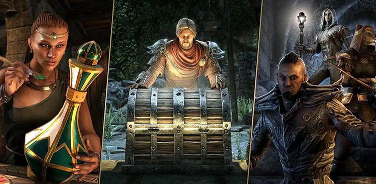 Предметы из контейнеров в The Elder Scrolls Online скоро можно будет покупать за игровую валюту