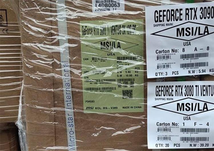 MSI GeForce RTX 3080 Ti Ventus 3X 12G OC (Lok LOK | Facebook)