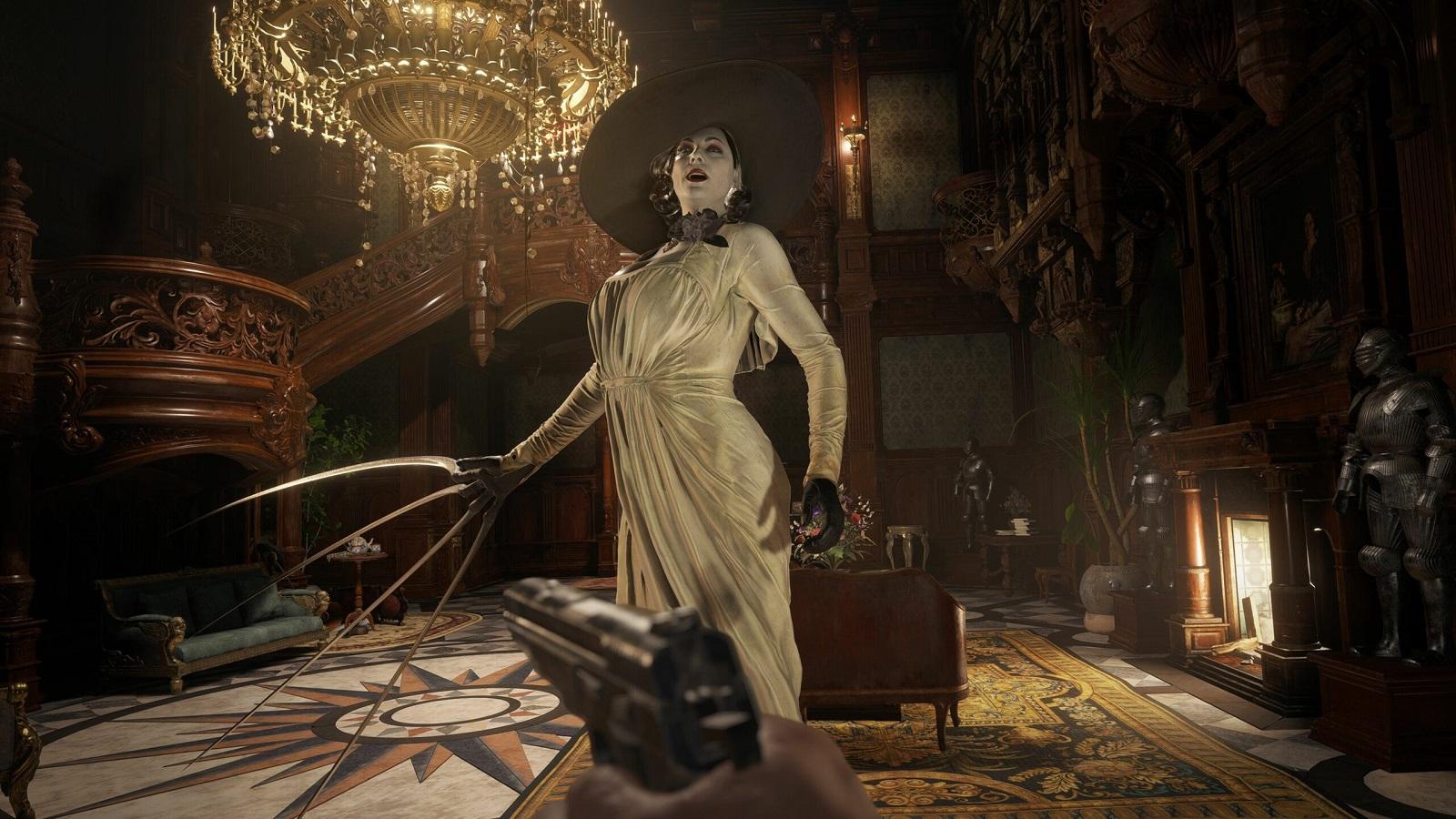 Журналисты рассказали и показали, что леди Димитреску со своими дочерьми будет делать в Resident Evil Village