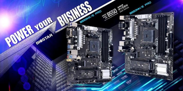 Biostar представила материнские платы для рабочих систем на процессорах AMD Ryzen