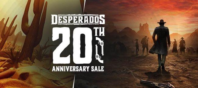 Desperados исполнилось 20 лет  в Steam началась распродажа игр серии
