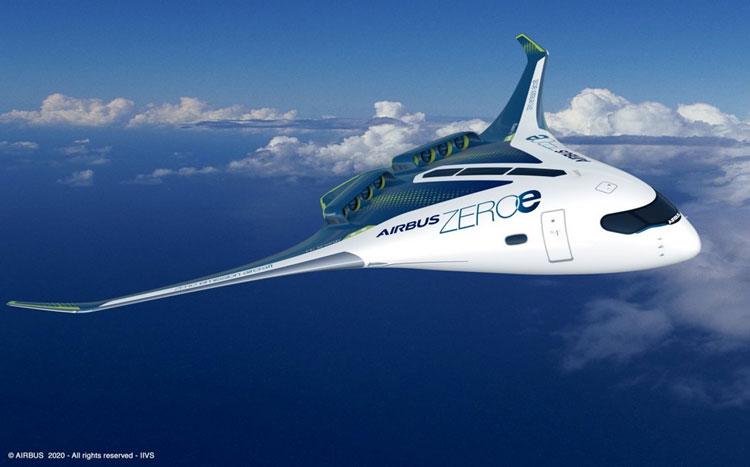Один из множества авиационных проектов Airbus на гибридной силовой установке. Источник изображения: Airbus