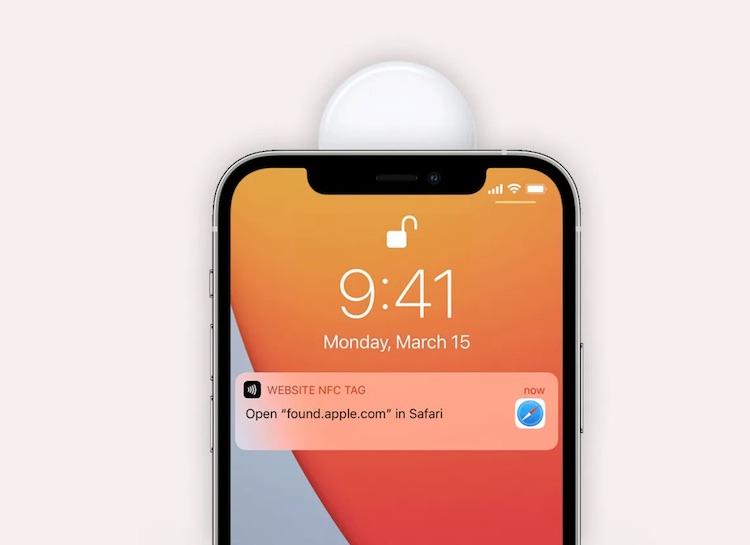 """Потерявшийся Apple AirTag можно будет прочитать с помощью Android-смартфона, чтобы вернуть владельцу"""""""