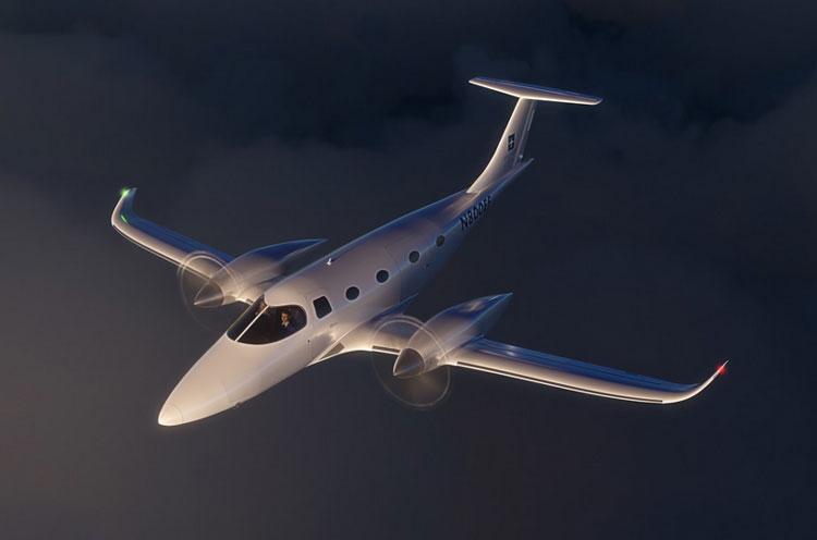 Электросамолёт Bye Aerospace eFlyer 800 сможет вместить семь пассажиров и пролететь почти 1000 км