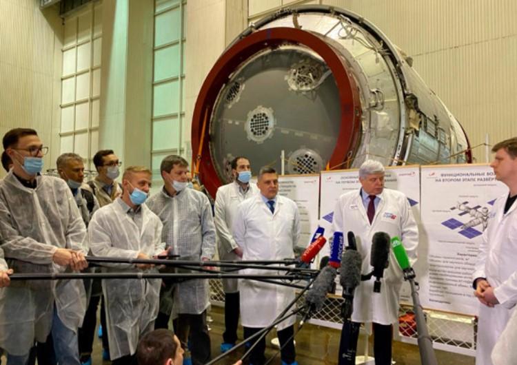 «Роскосмос» показал первый модуль будущей российской орбитальной станции
