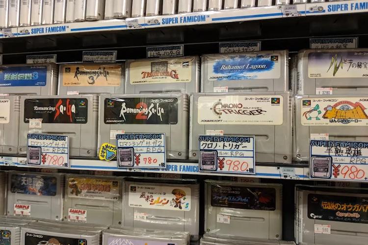 Культовый японский видеоигровой магазин Super Potato начал продавать редкие товары на eBay