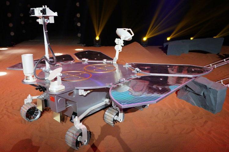 Китайский марсоход Чжу Жун. Источник изображения: SCMP