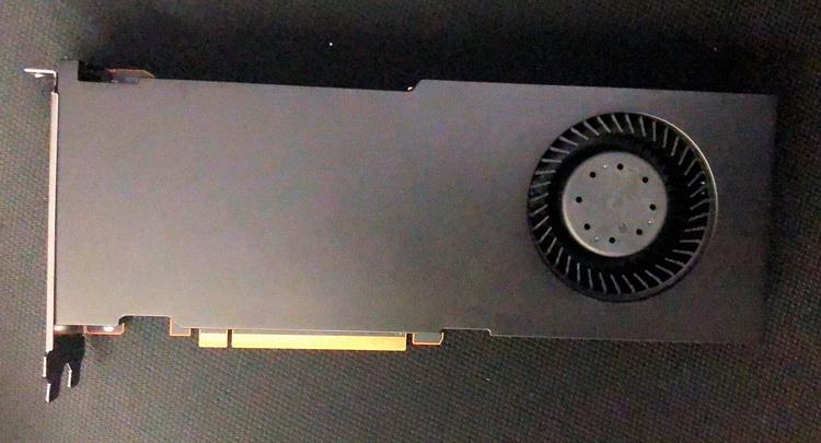 Предположительно Radeon PRO W6900X