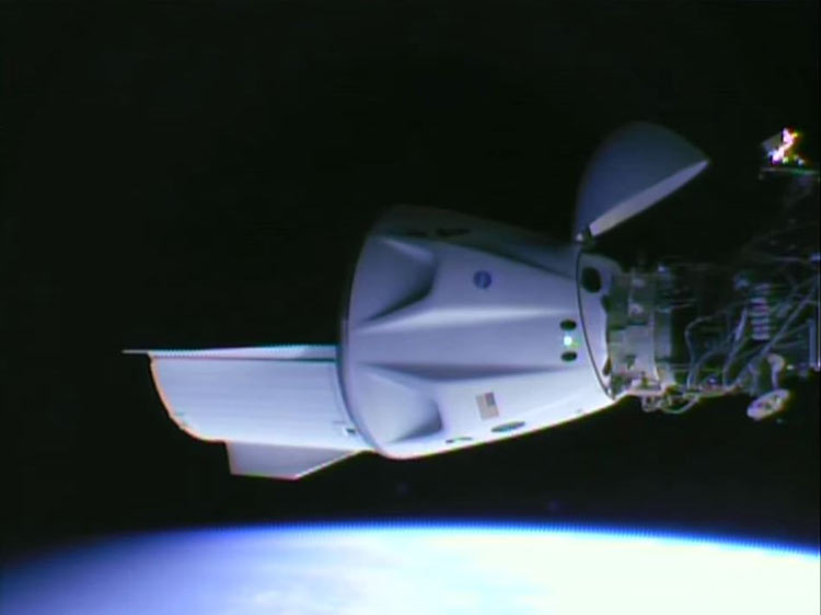 «Роскосмос» подтвердил переговоры со SpaceX о доставке космонавтов к МКС с помощью Crew Dragon