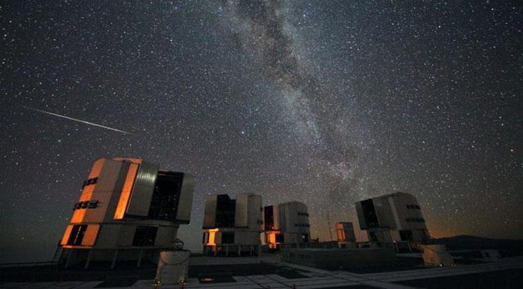 Very Large Telescope (Очень большой телескоп) — комплекс из четырёх оптических телескопов, работающх как один большой