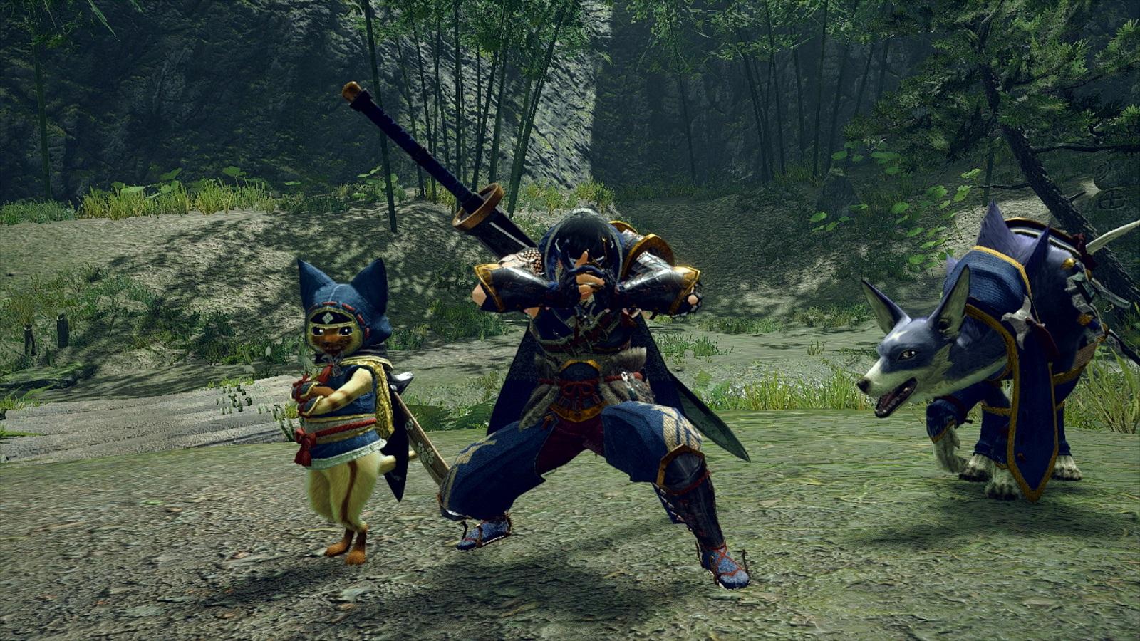 Monster Hunter Rise получила апрельское контентное обновление, а патч с дополнительной концовкой выйдет в конце мая