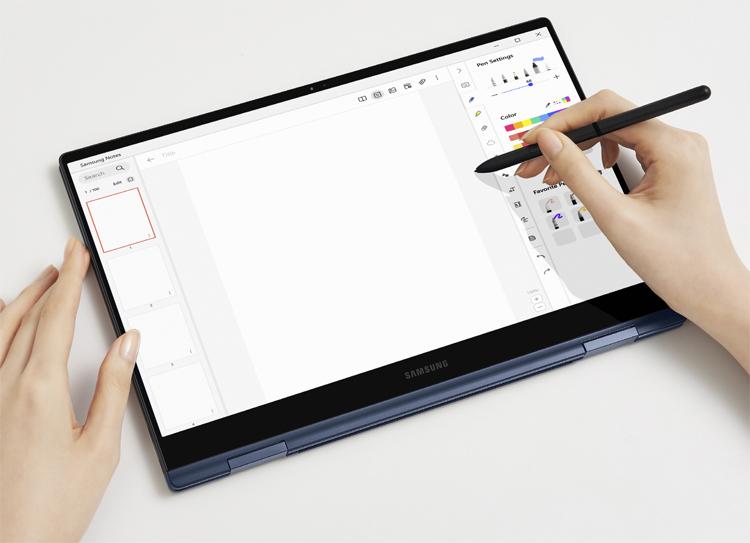 Представлены ноутбуки Samsung Galaxy Book Pro в двух вариантах размера с поддержкой 5G/4G