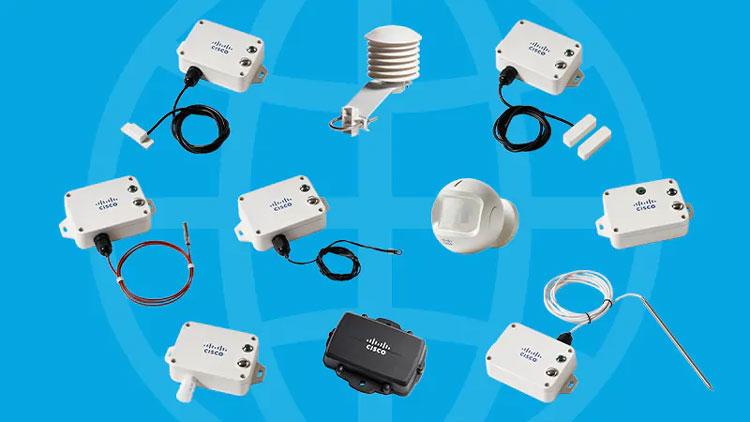 Датчики интернета вещей компании Cisco. Источник изображения: Cisco