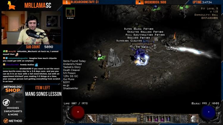 Момент нахождения Сементелли заветного посоха (Archon Staff на скриншоте)
