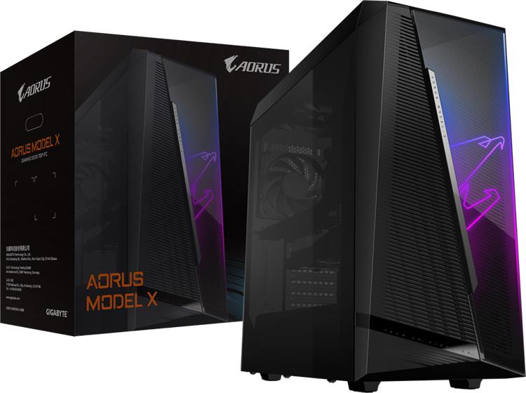 Gigabyte представила игровой компьютер Aorus Model X на процессоре AMD Ryzen 9 5900X