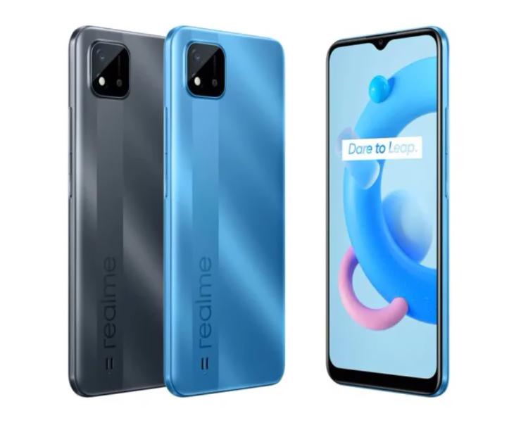 В России вышел смартфон Realme C11 (2021) с процессором Unisoc и ценой 8500 рублей