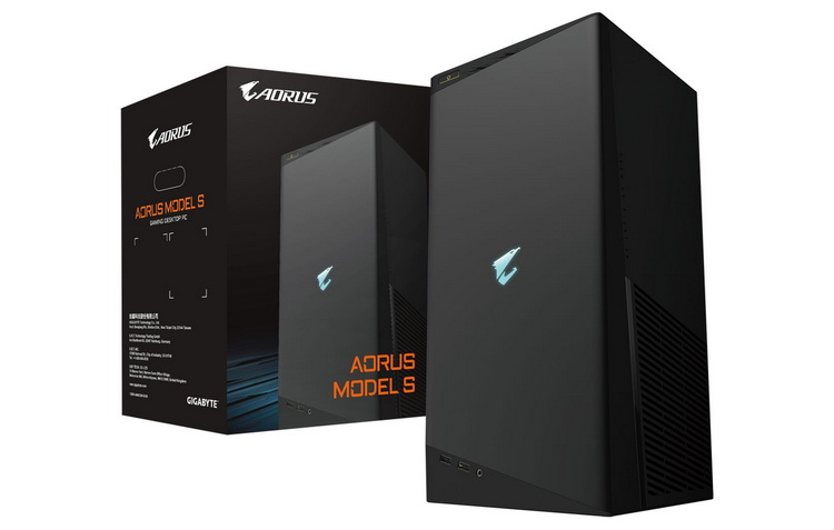 Gigabyte представила игровой компьютер Aorus Model S, который похож на Xbox Series X