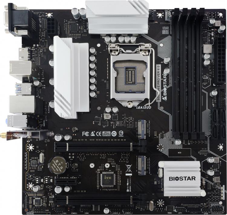 Biostar представила платы B560MX-E Pro и B560MH-E Pro для недорогих систем на Intel Rocket Lake-S